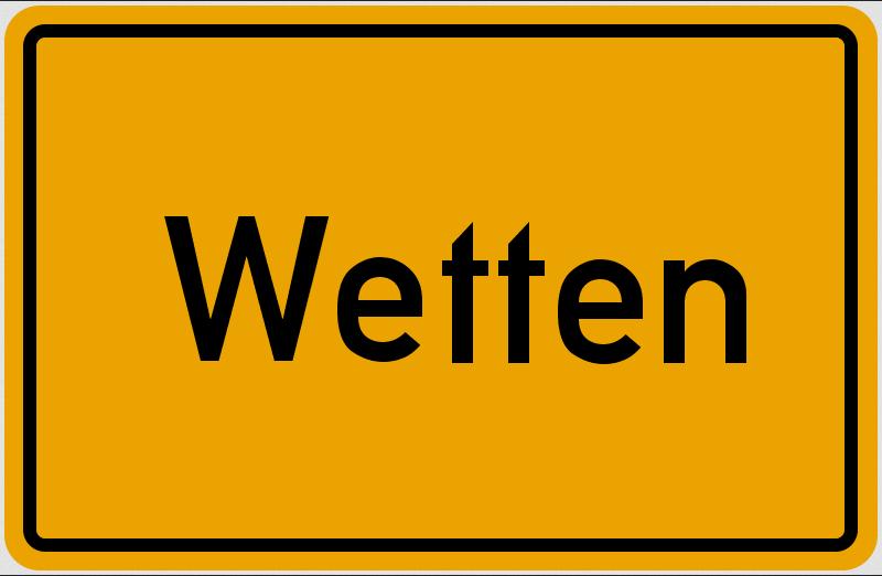 Wetten