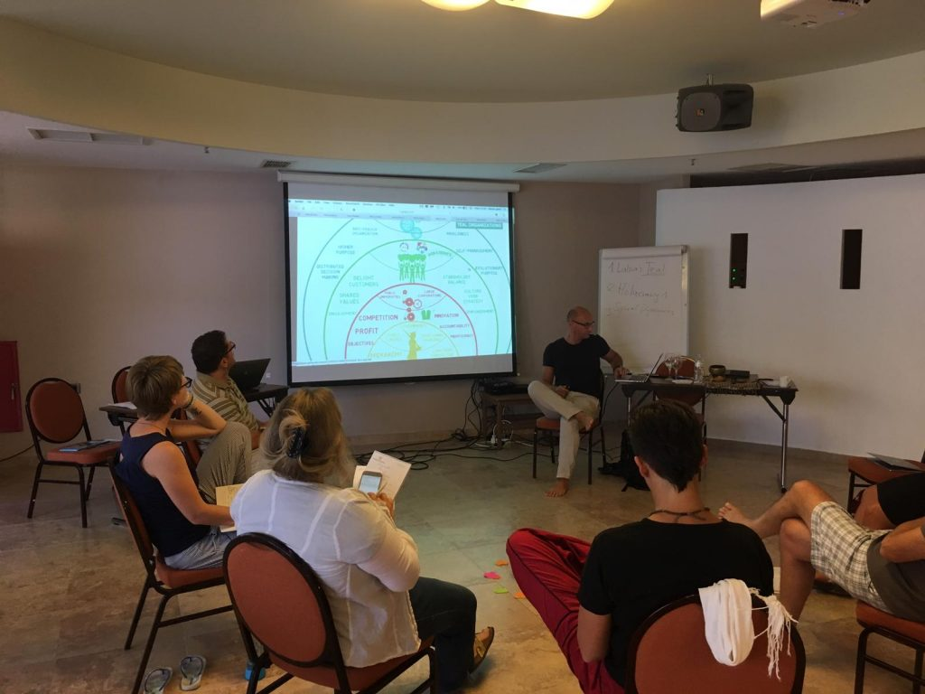 Integral Retreat in Crete